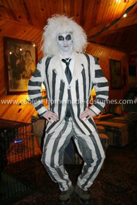 Homemade Beetlejuice Costume