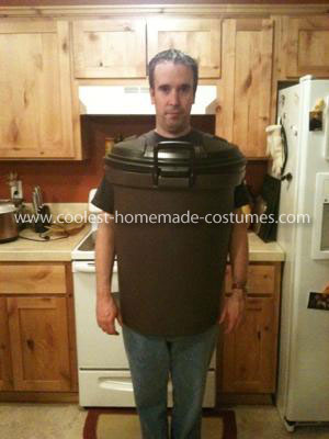 Homemade Bender from Futurama Costume