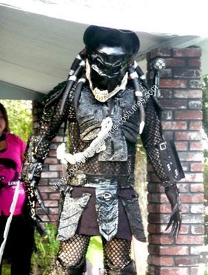 Homemade Berserker Predator Costume
