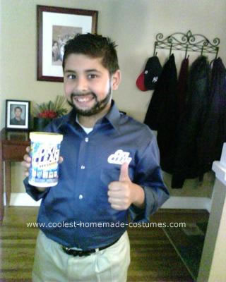 Homemade Billy Mays Costume