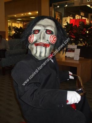 Homemade Billy the Puppet from Saw