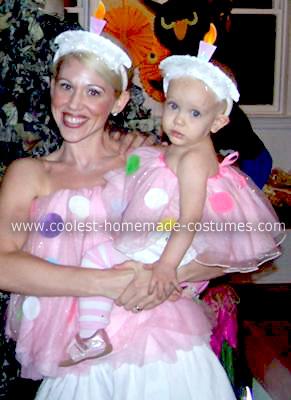 Homemade Birthday Cupcakes Costumes