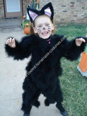 Homemade Black Cat Costume