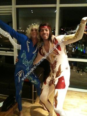 Homemade Blades of Glory Couple Costume