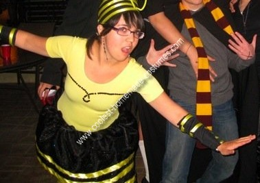 Homemade Blind Melon Bee Girl Costume