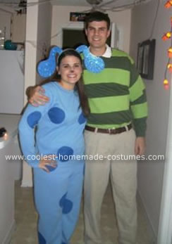 Homemade Blue and Steve from Blues Clues Costumes