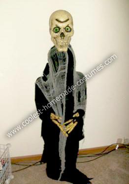 Homemade Bobble Head Monster Costume
