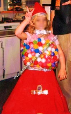 Bubble Gum Machine Costume Idea