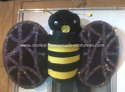 Coolest Homemade Bumblebee Costume 9