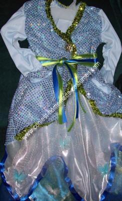 Homemade Butterfly Fairy Girl Costume