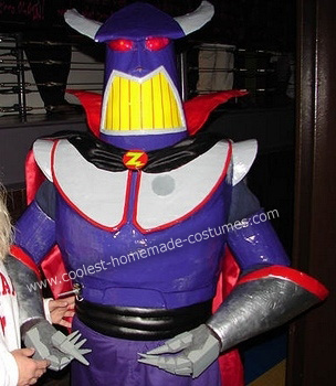 Homemade Buzz Lightyear and Emperor Zurg Costumes