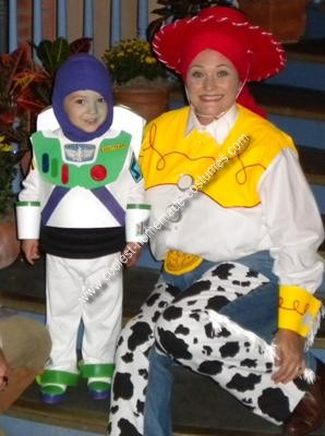 Homemade Buzz Lightyear Child Costume