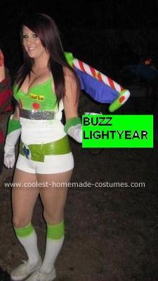 Homemade Buzz Lightyear Halloween Costume Idea