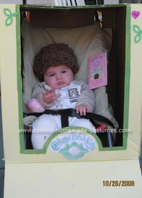 Coolest Homemade Cabbage Patch Costume 5