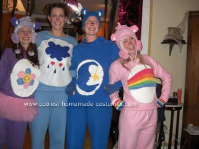 Homemade Carebear Costumes