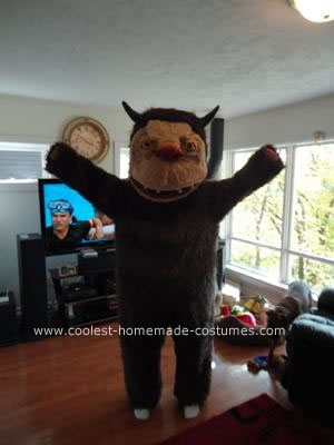 Homemade Carol from Where The Wild Things Are Costume