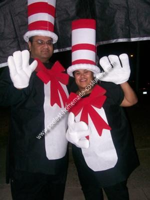 Homemade Cat in the Hat Costume Idea