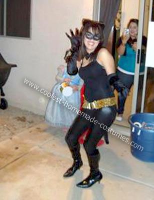 Homemade Catwoman Halloween Costume