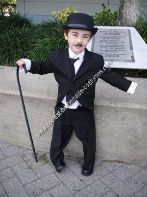 Homemade Charlie Chaplin Costume