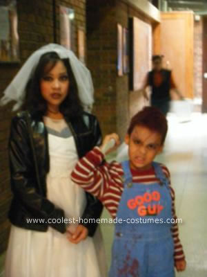 Bride of Chucky Costume http://www.coolest-homemade-costumes.com/coolest-homemade-chucky-and-chuckys-bride-costume-6.html