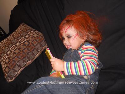 Homemade Chucky Costume