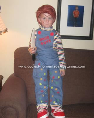 Homemade Chucky from Childs Play Halloween Costume