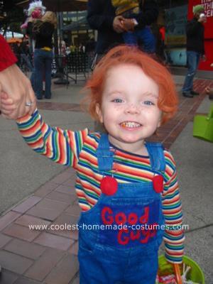 Homemade Chucky Halloween Costume Idea