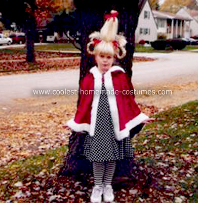 Cindy Loo Hoo Costume Ideas http://www.coolest-homemade-costumes.com/coolest-homemade-cindy-lou-who-halloween-costume-5.html