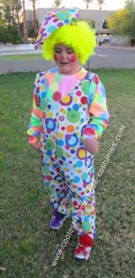 Homemade Circus Clown Costume