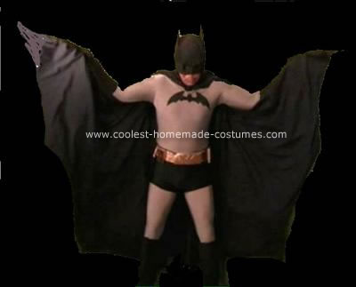 Homemade Classic Batman Costume