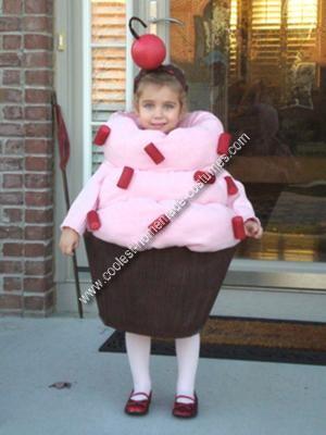 Homemade Cupcake Costume