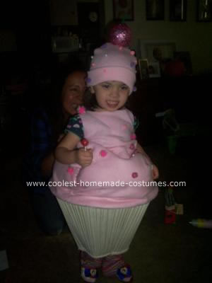 Homemade Cupcake Costume Idea