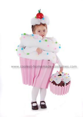 Homemade Cupcake with Sprinkles Costume