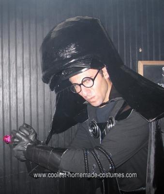 Homemade Dark Helmet Halloween Costume