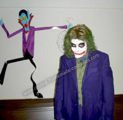 Homemade Dark Knight Joker Costume