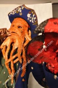 Homemade Davy Jones Costume from Pirates of Caribbean