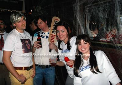 Homemade Dazed and Confused Group Costume