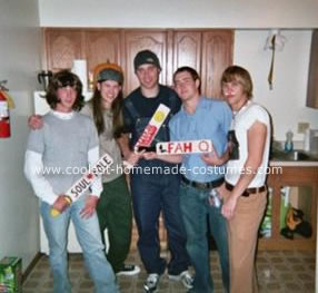 Homemade Dazed and Confused Group Halloween Costume