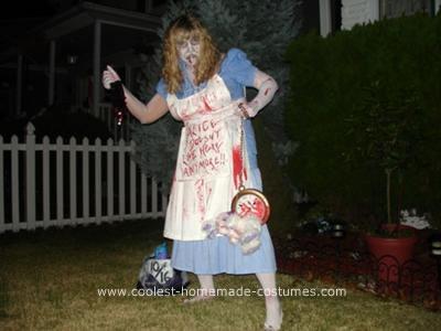 Homemade Dead Alice Costume