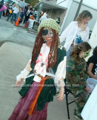 Homemade Dead Pirate