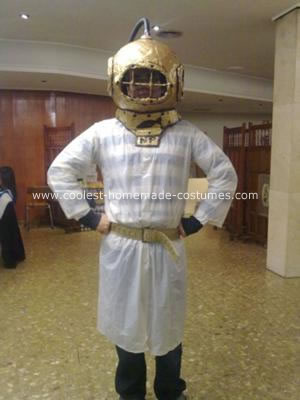 Homemade Deep Sea Diver Costume
