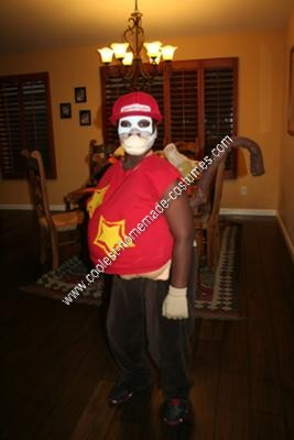 Homemade Diddy Kong Halloween Costume