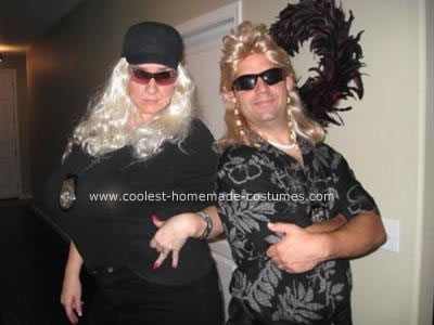 Homemade Dog and Beth the Bounty Hunters Couple Costume