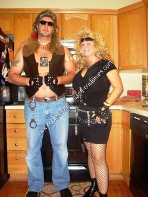 Homemade Dog the Bounty Hunter and Beth Halloween Costume Ideas