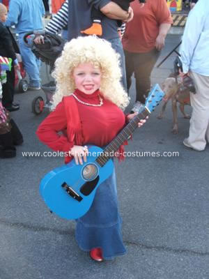 Homemade Dolly Parton Costume