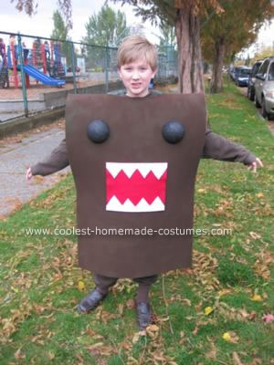 Homemade Domo Costume