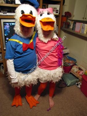 how to make a duck costume for adults