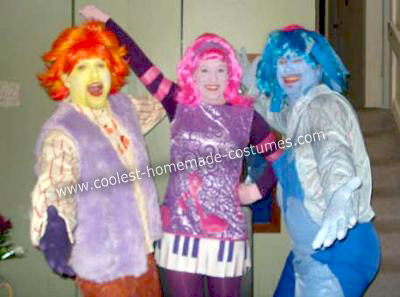 doodlebops costumes