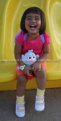Homemade Dora Costume