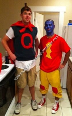 Homemade Doug and Skeeter Couple Halloween Costume Idea
